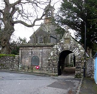 Kirkmichael village in South Ayrshire, Scotland