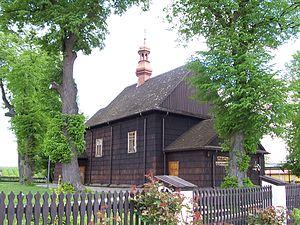 Kleczanów - Wooden church