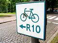 Kołobrzeg - Międzynarodowy szlak rowerowy wokół Bałtyku R-10.JPG