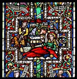 Koelner Dom Aelteres Bibelfenster