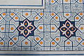 Kok Gumbaz mosque in Shahrisabz - inside 3 - detail.JPG