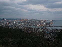 Overview of Jeju City