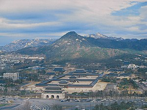 Korea-Seoul-Overview of Gyeongbokgung.jpg