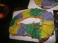 Kosmic Debris King Cake Party 2012 King Cake.JPG