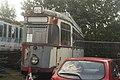 Krefeld (Germany) DÜWAG tram no 412 (metre gauge) Walthamstow Pump House Museum.jpg