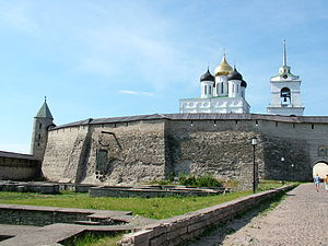 Daumantas of Pskov - Daumantas Town in Pskov.