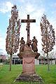 Kreuzigungsgruppe, Friedhof Schaidt.jpg