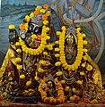 Krishna with Radha - Radha-Krishna Mandir - Bara Rashbari - 78 Tollygunge Road - Kolkata 2014-12-14 1694.JPG