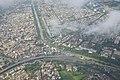 Krishnapur and Salt Lake City - Bagjola and Kestopur Canals - VIP Road - Aerial View - Kolkata 2016-08-04 5675.JPG