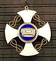 Krzyż II kl. Orderu Korony Włoskiej gen. J. Hallera.jpg
