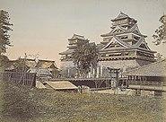 Kumamoto Castle oldphoto 1871-1874
