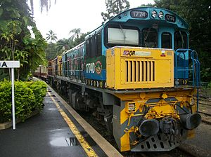 Kuranda Scenic Railway - Kuranda railway station
