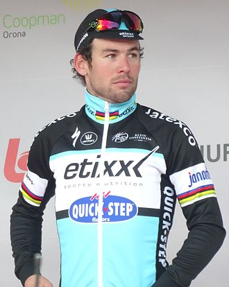 2015 Tour of California - Mark Cavendish dominated the first two stages and would go on to win four in total. He is pictured here at 2015 Kuurne-Brussel-Kuurne