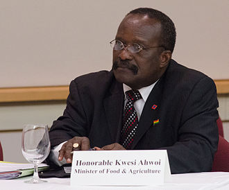 Kwesi Ahwoi - Image: Kwesi Ahwoi at African Heads of State conference May 18, 2012
