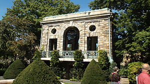 Kykuit - Kykuit's tea house