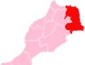 L'oriental Region Morocco map.png