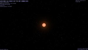 LHS 292 - Image: LHS 292 rendering