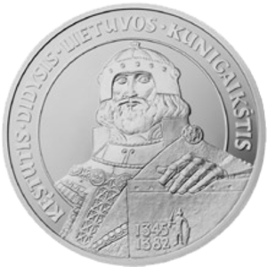 Kęstutis - Litas commemorative coin dedicated to Kęstutis