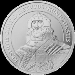 Kęstutis - Litas commemorative coin dedicated to Kęstutis