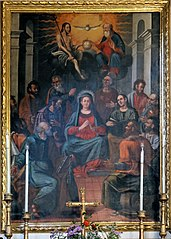 Descent of the Holy Spirit on the Virgin and the Apostles