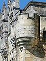 La Chapelle-Faucher château échauguette.JPG