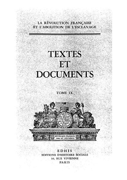 File:La Révolution française et l'abolition de l'esclavage, t9.djvu