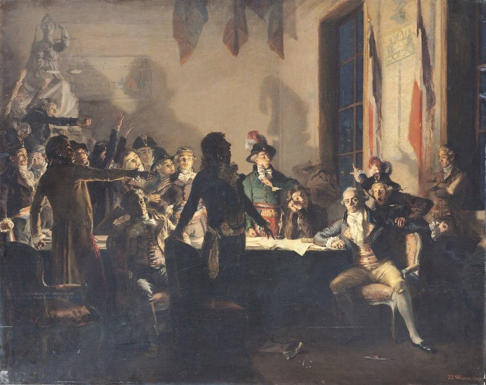 La nuit du 9 au 10 thermidor an II (1794)