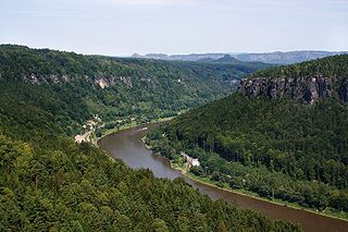 Elbe major river in Central Europe
