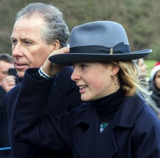 David Armstrong-Jones, 2nd Earl of Snowdon - Pictured with his daughter in 2017