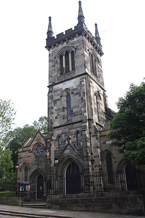 John Henderson (architect) - Lady Glenorchy's Church, Blenheim Place, Edinburgh