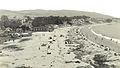 Laguna Beach Main Beach, Sayles Dance Hall at left, Hotel Laguna Beach in center - Tom Pulley Postcard Collection-L.jpg
