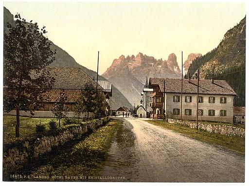 Landro, Hotel Bauer, Tyrol, Austro-Hungary-LCCN2002711043