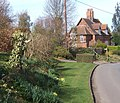 Laneside gardens and Red Cottages, near Brent Eleigh - geograph.org.uk - 724617.jpg