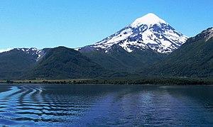 Neuquén Province - Lanín a large stratovolcano in Neuquén