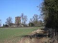 Lapley church from the Staffordshire Way - geograph.org.uk - 1746757.jpg
