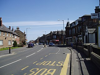 Larbert small town in the Falkirk council area of Scotland