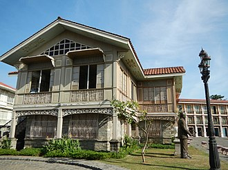 Architecture of the Philippines - Bahay na Bato is a Filipino colonial house during the Spanish period.