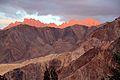 Last rays of sun on the mountains around Lamayuru (10000130546).jpg