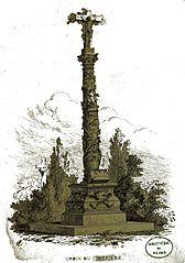 croix de cimetière de Laubressel