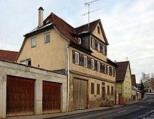 Elternhaus in Lauffen am Neckar, Januar 2009 (Quelle: Wikimedia)