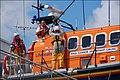 Launching Newcastle lifeboat (2 of 7) - geograph.org.uk - 488018.jpg