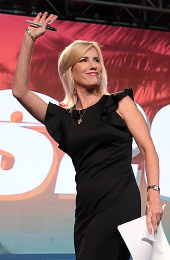 Ingraham at a political conference in December 2018 Laura Ingraham by Gage Skidmore 2.jpg