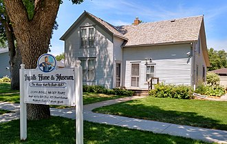 Caroline Ingalls - Final home of Caroline Ingalls, built by Charles in 1887, and located in De Smet, South Dakota