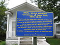 Law Office Marker Hudson Falls Historic District Sep 09.jpg