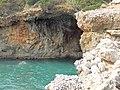 Lazio - San Felice Circeo - Dettaglio di grotta vicino a quella delle Capre.jpg