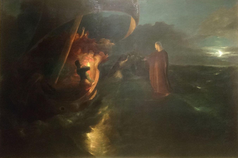 Le Christ marchant sur les eaux