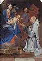 Le Tellier - SAINT BERNARD DEVANT LA VIERGE, L'ENFANT ET SAINT JOSEPH.jpg