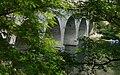 Le pont de la Cèze près de Saint-André-de-Roquepertuis, ici une personne qui s'est jeté du pont.JPG