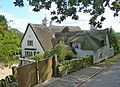 Lea Cottage, Ulverscroft, Leicestershire from Lea Lane.JPG