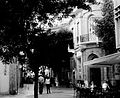 Ledra Street Afternoon cafeterias Black and white Nicosia Republic of Cyprus.jpg